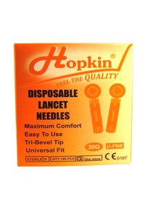 Hopkin Disposable 30g Lancet Needles