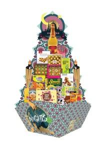 Raya 2016 Pyramid Hamper HR 5001