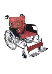 Hopkin Deluxe Aluminum Flip Arm Wheelchair