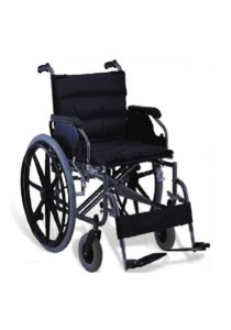 Hopkin Extra Wide Steel Wheelchair