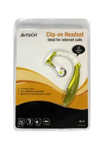 A4Tech HS-12-2 Wired Headset (Green)