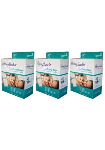 Honeysuckle Breast Pump Bags (Pack of 3)