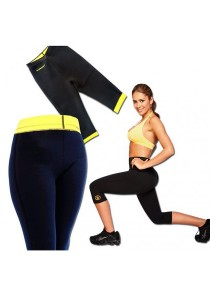 As Seen On Tv Hot Shapers Slimming Pants Womens Capri Slimming (Black)