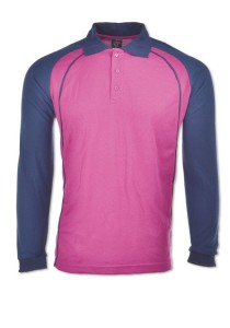 Cotton Polo T Shirt HSL 01 (Purple)