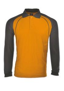 Cotton Polo T Shirt HSL 02 (Orange)