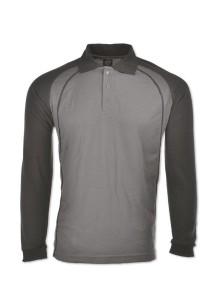 Cotton Polo T Shirt HSL 03 (Charcoal)