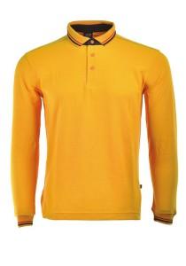 Cotton Polo T Shirt HSL 08 (Orange)