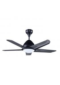 """ALPHA AF20 LED-5B/42 42"""" Ceiling Fan 5 Blades LED (Black)"""