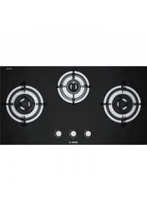BOSCH PBD9331MS GAS HOB 3 BURNERS 9.7KW TEMPERED GLASS