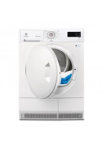ELECTROLUX EDC2086PDW CONDENSER CLOTHES DRYER 8KG SILVER WOOL