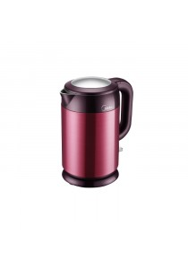 MIDEA MK-H317E2B Jug Kettle 1.7l Double Wall For Anti Scald Protection SS Vessel Cool Touch