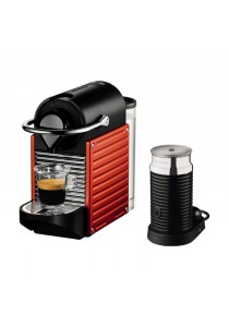NESPRESSO A3NKC60-ME-RE-N PIXIE AEROCCINO MILK FROTHER 3 RED ON PACK C60-ME-RE-NE