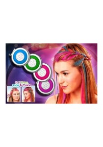 Hot Huez Temporary Hair Chalk Set of 4 Colors