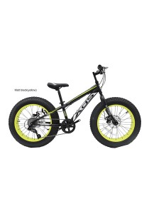 "20"" XDS HUGO Matt Black (Red) Fat Bike"
