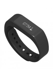 i5 IP67 Bluetooth V4.0 Smart Wristband Bracelet with Sports & Sleep Tracking Black