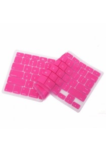 Crystal Guard Silicone Keyboard Cover (Pink)