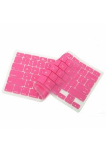 Crystal Guard Silicone Keyboard Cover (Rose Red)