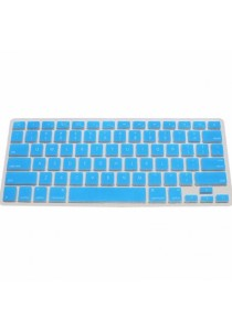 Crystal Guard Silicone Keyboard Cover (Light Blue)