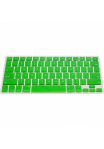 Crystal Guard Luminous Silicone Keyboard Cover (Green)