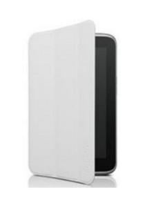 (Genuine) Lenovo A3300 Folio Case and Screen Protector (White)