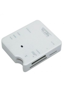 Vztec All in One USB 2.0 Mini Card Reader (VZ-CR1002) (White)