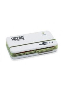 Vztec All in One USB 2.0 Mini Card Reader (VZ-CR3903) (White)