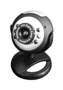 Vztec 5.0MP Webcam with Light (VZ-WC1682) (Black)
