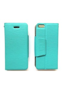Anymode iPhone 4S Leather Case with Stand (Blue)