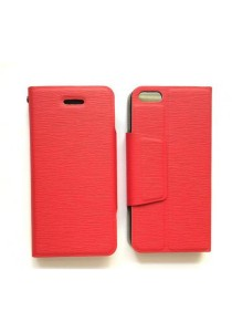 Anymode iPhone 4S Leather Case with Stand (Red)