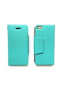 Anymode iPhone 5S Leather Case with Stand (Blue)