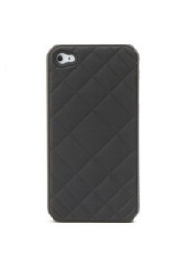 3D Grid Pattern Protective Hard Back Case for iPhone 4