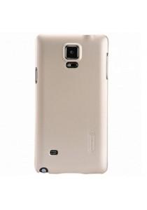 (Original) Nillkin Samsung Galaxy Note 4 Super Frosted Shield Sand Case (Gold)