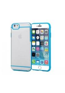 "Apple iPhone 6/6S 4.7"" Slim-Fit Transparent Hybrid Case (Blue)"