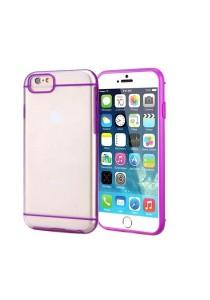 "Apple iPhone 6/6S 4.7"" Slim-Fit Transparent Hybrid Case (Purple)"