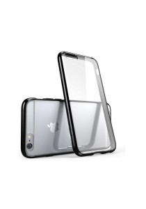 """Apple iPhone 6/6S 4.7"""" Ultra Thin Series Clear Soft Case (Black)"""