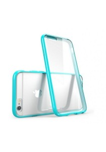 """Apple iPhone 6/6S 4.7"""" Ultra Thin Series Clear Soft Case (Blue)"""