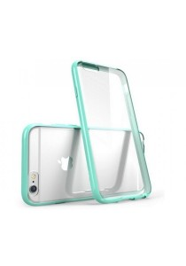 """Apple iPhone 6/6S 4.7"""" Ultra Thin Series Clear Soft Case (Light Green)"""