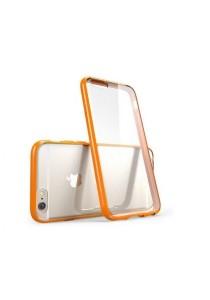 "Apple iPhone 6/6S 4.7"" Ultra Thin Series Clear Soft Case (Orange)"