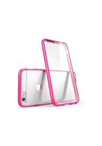"""Apple iPhone 6/6S 4.7"""" Ultra Thin Series Clear Soft Case (Pink)"""