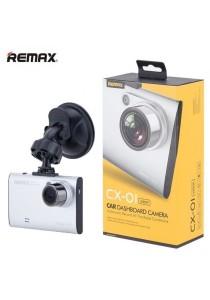 Remax CX-01 DVR Car Camera Recorder Dashcam 1080P Full HD (Silver)