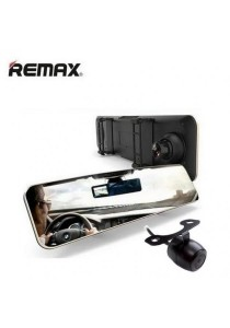 Remax CX-03 DVR Mirror Car Camera Recorder with Back Camera Dashcam 1080P Full HD