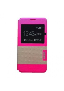 Asus Zenfone 5 Leather Case (Pink)