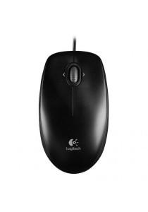 (Original) Logitech Wired Optical Mouse M100R (Black)