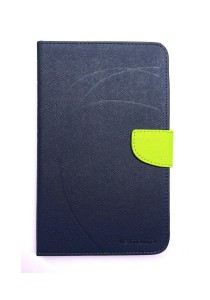 Lenovo Ideatab A1000 Mercury Leather Flip Case (Blue)