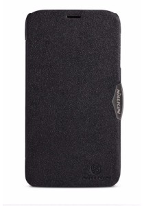 (Original) Nillkin Lenovo A850 Fresh Series Leather Case (Black)