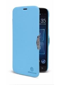 (Original) Nillkin Lenovo A850 Fresh Series Leather Case (Blue)