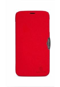 (Original) Nillkin Lenovo A850 Fresh Series Leather Case (Red)