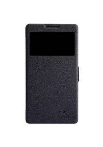 (Original) Nillkin Lenovo A880/A889 Fresh Series Leather Case (Black)
