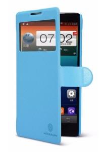 (Original) Nillkin Lenovo A880/A889 Fresh Series Leather Case (Blue)
