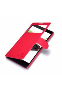 (Original) Nillkin Lenovo A880/A889 Fresh Series Leather Case (Red)